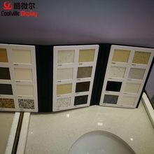 Plastic quartz samples catalogues perfect binder parquet tiles wooden sample book
