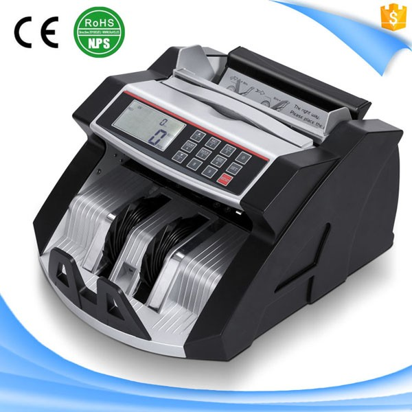 S81 mix value money counting machine/currency counter/detector with UV MG IR fake note detection
