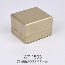 2018 luxury golden painting ring jewelry box sale