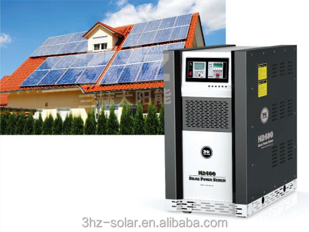 solar ups 2400w complete home solar power system for small homes working model of solar system