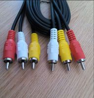 we supply High Quality RCA Jumper Cable/Audio Cable/3 RCA To 3 RCA