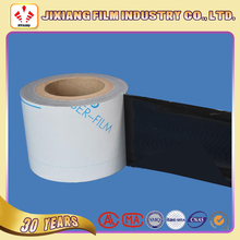 Printed plastic black and white PE stretch film for express bag/industrial procuct packaging