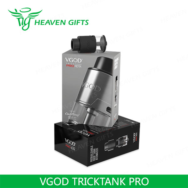 2016 Wholesale 4ml e vapour VGOD TRICKTANK PRO Tank from HeavenGifts