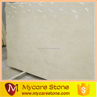 Customize professional polished crema marfil marble slab