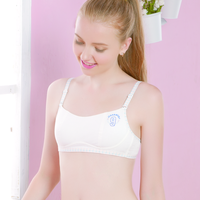 Young girls cotton crop top , training bra for 9 years old girls, high quality girls bra