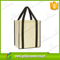 Cute Reusable non woven Shopping Bag/polypropylene spunbond non-woven supermarket bag/tnt 100gsm nonwoven grocery bags