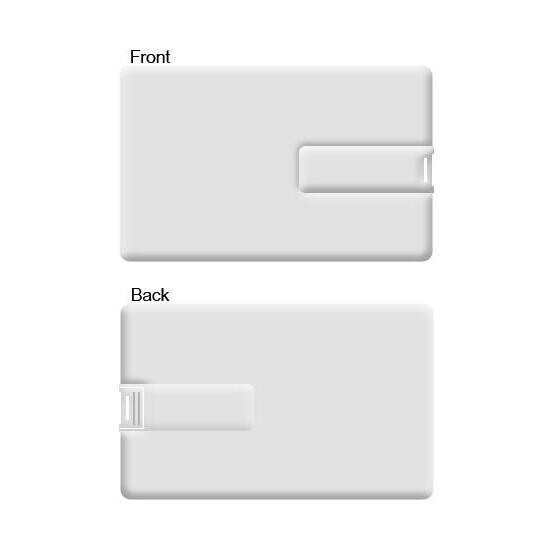 Business card memory stick 2gb Credit Card USB Flash Disk with logo