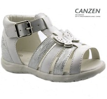 New style girls' summer soft leather sandals fashion beautiful sandals