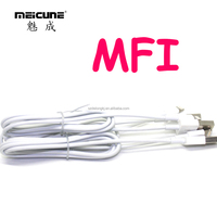 Original MFI Certified 1m USB Cable 8-Pin Colorful USB for Apple Charge & Sync Date for iphone 6/ 5S/ 5