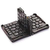 Wireless Keyboard Bluetooth 3.0 Folding Folded Keyboard for iPhone Google Samsung Android Smartphone Tablet Laptop
