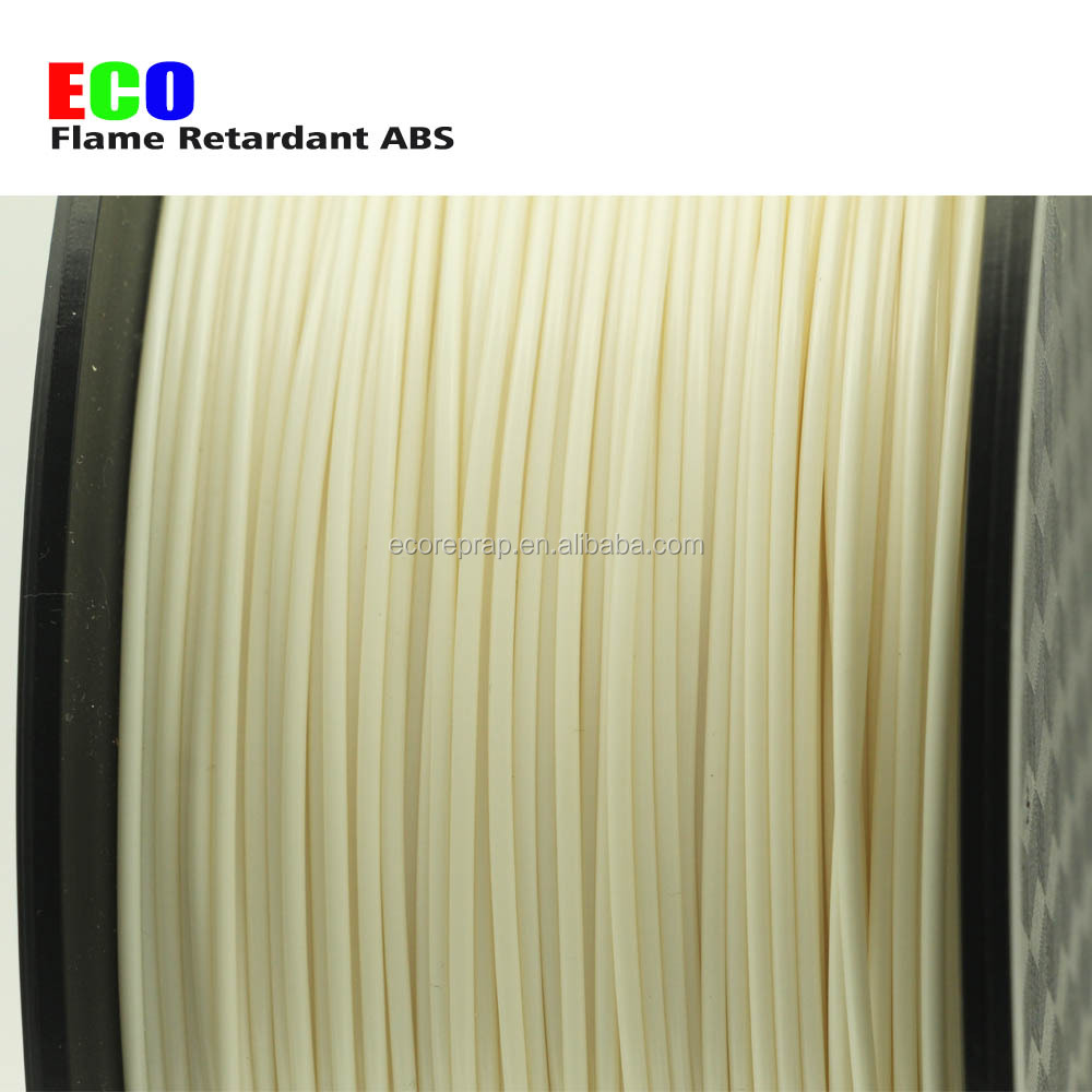 2017 high quality 1.75mm natural black color 3d filament new flame retardant