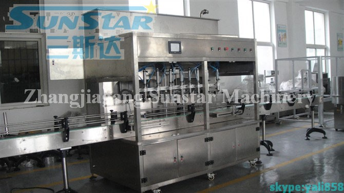 Automatic Bottled olive oil filling machine/oil packing machine