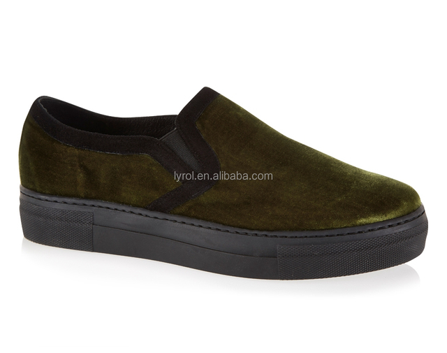 Velvet Shoes Men New Trend Casual