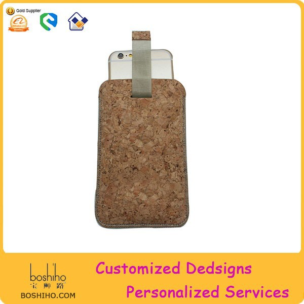 Special design For iphone 6 case cork case for iphone6