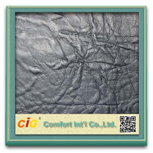 New Embossed Designbulk synthetic leather Made in China