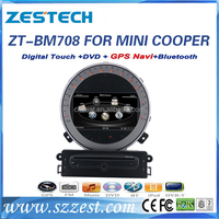 Factory sale car auto parts for BMW MINI COOPER S R56 accessories support touch screen car dvd gps radio navigation multimedia