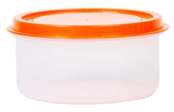 PLASTIC ROUND CONTAINER WITH LID 5602