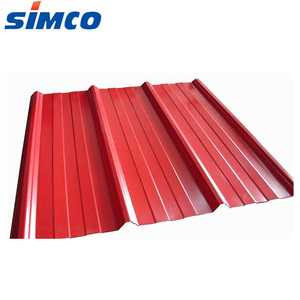 0.35mm thickness prepainted plate corrugated steel sheet for roof