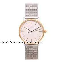 2018 Luxury Brand Gold Automatic Quartz Ladies Watches Stainless Steel Back Water Resistant 3 bar