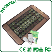 FIR thermal heating tense therapy portable massage jade mats CE approved