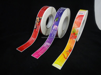 High quality full color printing Jar Labels