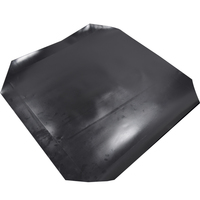 Plastic Sheet Non Slip Rubber Top