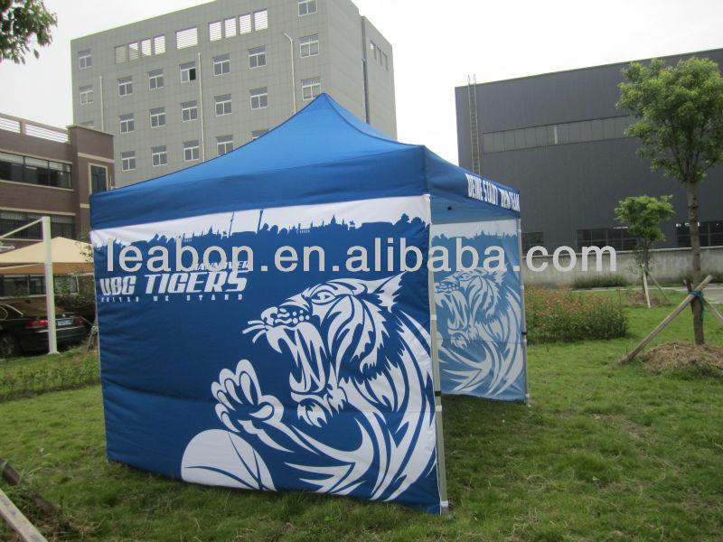 Outdoor or Indoor advertising zip up tent