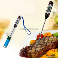 Hot Amazon Kitchen digital food thermometer Household hot pen type food Thermometers Instant Read Meat Thermometer