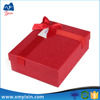 Recyclable Feature and Paper Material gift box with ribbon