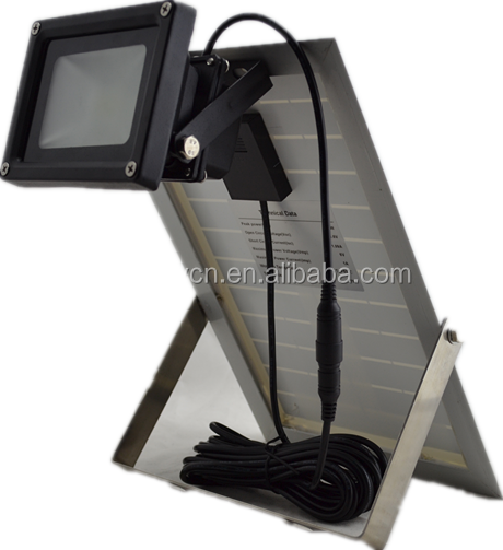 BST-50 house door outside Solar flood light IP 65 protection level