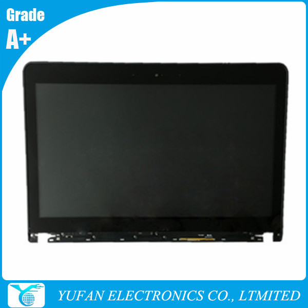 B140RTN02.3 04X4195 Original Touch Monitor 14'' PLS Display LCD Monitor Touch Screen for E440