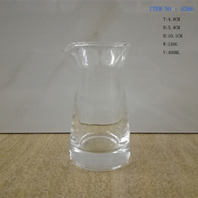 Factory Wholesale High Quality Clear Small Glass Wine Caraffe Wine Decanter