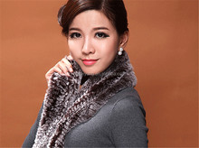 fake fur wool university scarf/cashmere shawl with fur/fur hooded scarf hat
