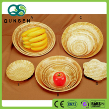 Factory hot sale custom fruit bamboo serving tray