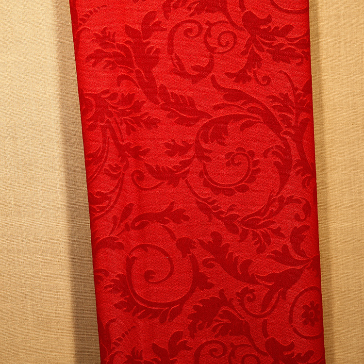 China factory supply embroidered curtain fabric for Fabric supply