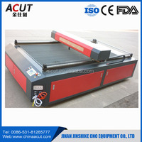 80w CO2 Plastic Leather Playwood Die Board CNC Laser Cutting Machine for Sale