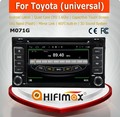 High Quality car radio for toyota universal 2 din car dvd player android for toyota universal navigation dvd DAB radio wifi