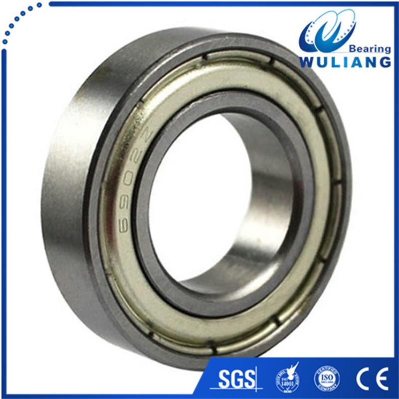 High speed low noise 6902ZZ 15x28x7mm deep groove ball bearing for snowmobile