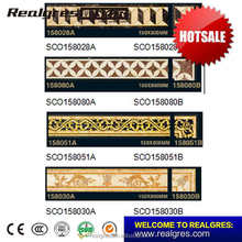 Newest top sell foshan marble border tiles lines design