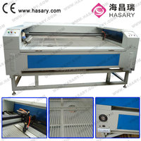 Used in Clothing Industry 60W 80W 100W Upholstery Fabric Manufacture Used Laser Cutting Machines