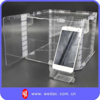 Fashion plastic clear phone case for display promotion