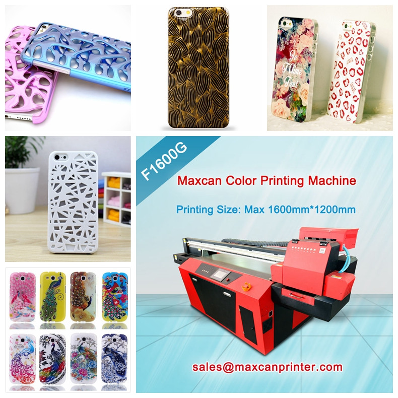 UV digital flatbed cellphone 3D printer mobile phone case making machine
