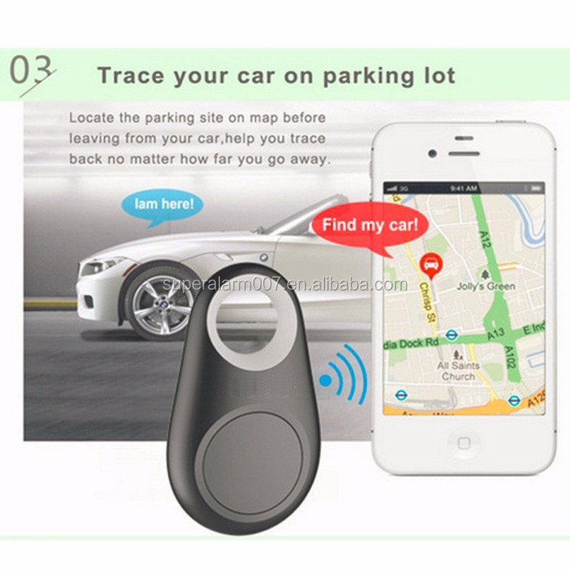 Green Color gift bluetooth 4.0 Key Finder Tracker Anti lost alarm with selfie button