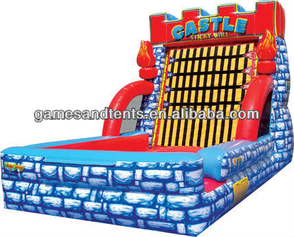 gaint Inflatable Sticky /Castle Sticky Wall A6030