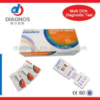 Urine Drugs rapid Test kits/drug (MOP THC OPI COC AMP BZO KET)test strip cassette panel