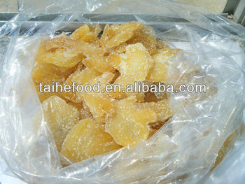 dried ginger slice/dice, hot sale dried fruit