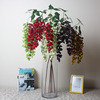 artificial plant with bumper harvest wish fake grapes fruit