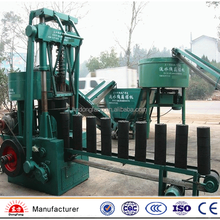 Cylinder type 12 holes honeycomb briquette making machine for coal powder