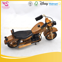china antique wooden motorcycle model