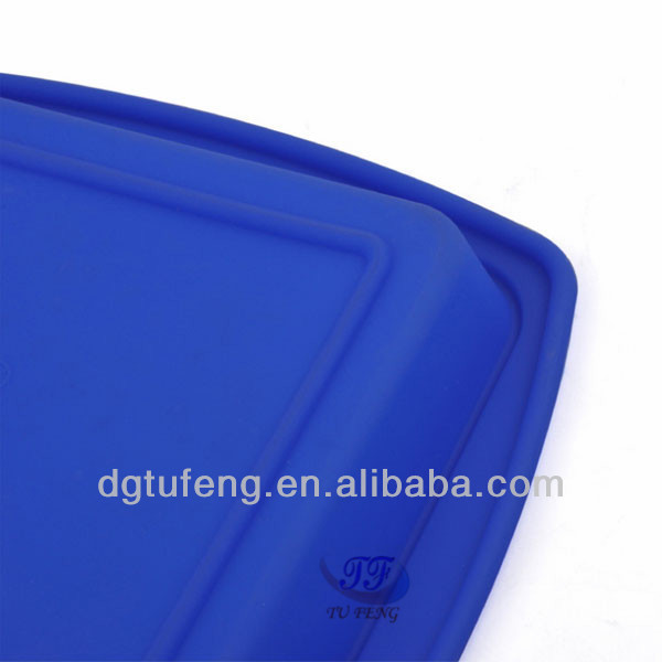 Dongguan heat resistant delicate design silicone square baking pan